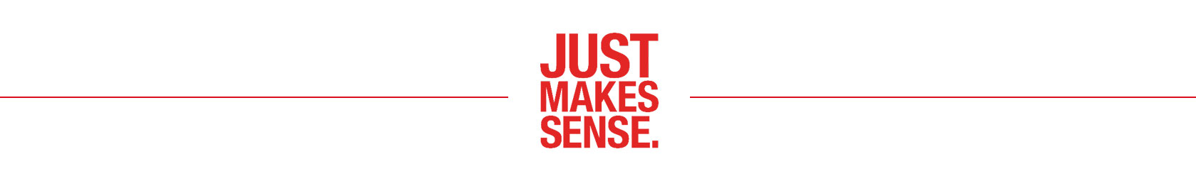 Just makes sense logo