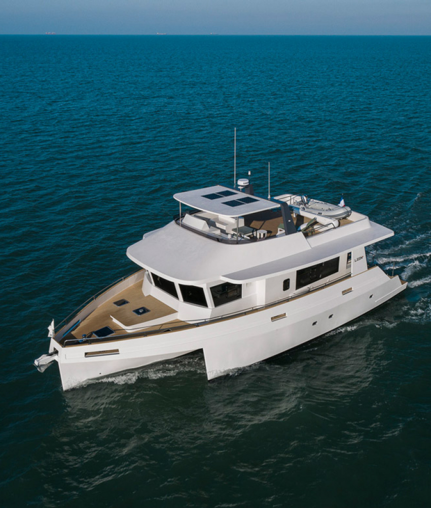 World premiere : The LEEN 56 at the YACHTING FESTIVAL IN CANNES